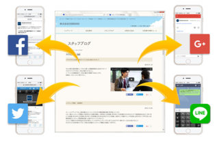 SNSは効率的に情報を拡散できます